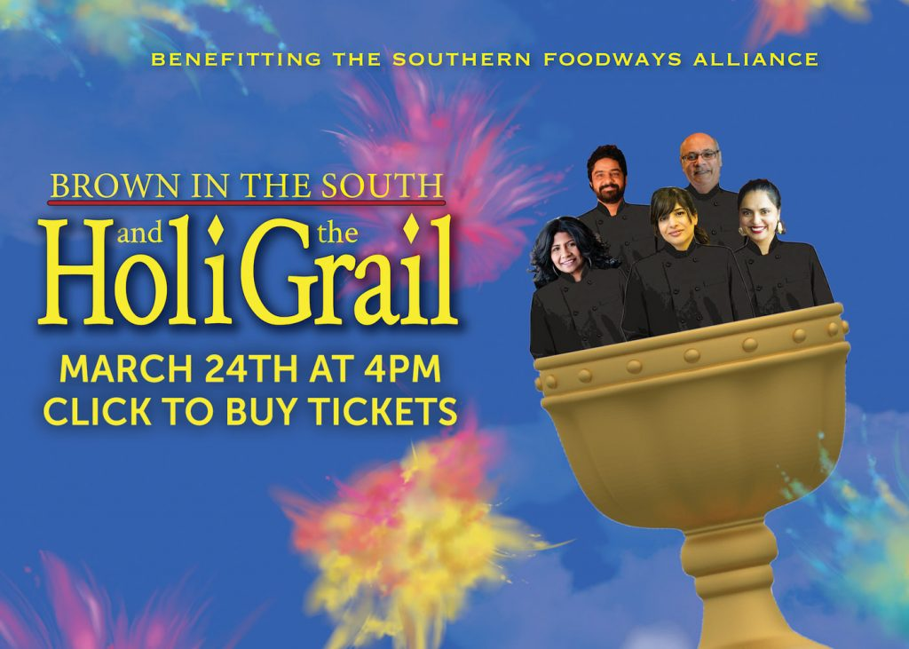 Brown in the South and the Holy Grail. March 24th at 4PM. Click to buy tickets.